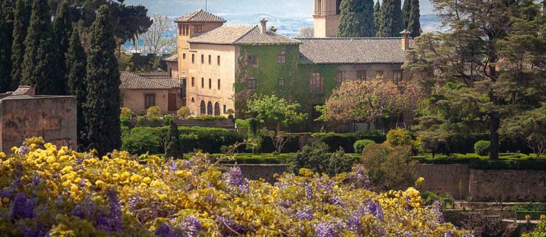 Panorama depuis les Jardins du Generalife