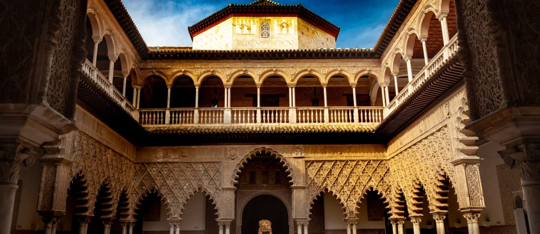 Alcazar Seville Patio de las Doncellas